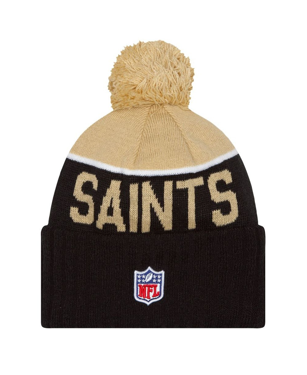 77f1f6346d8 New Era Men s Beanie NFL Sideline New Orleans Saints