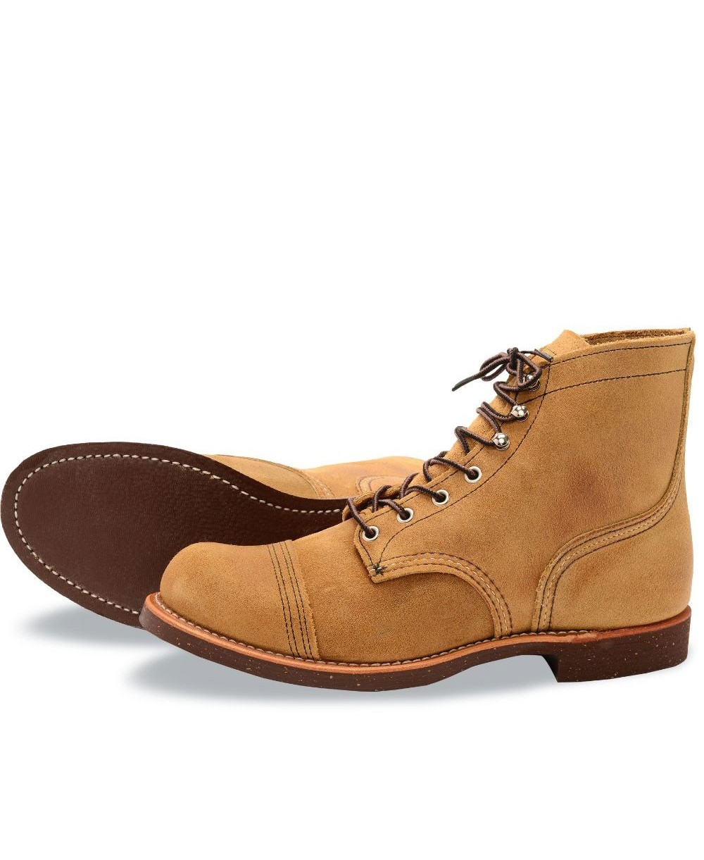 fa28f4fe1 Iron Ranger Boots en Cuir Homme 8113