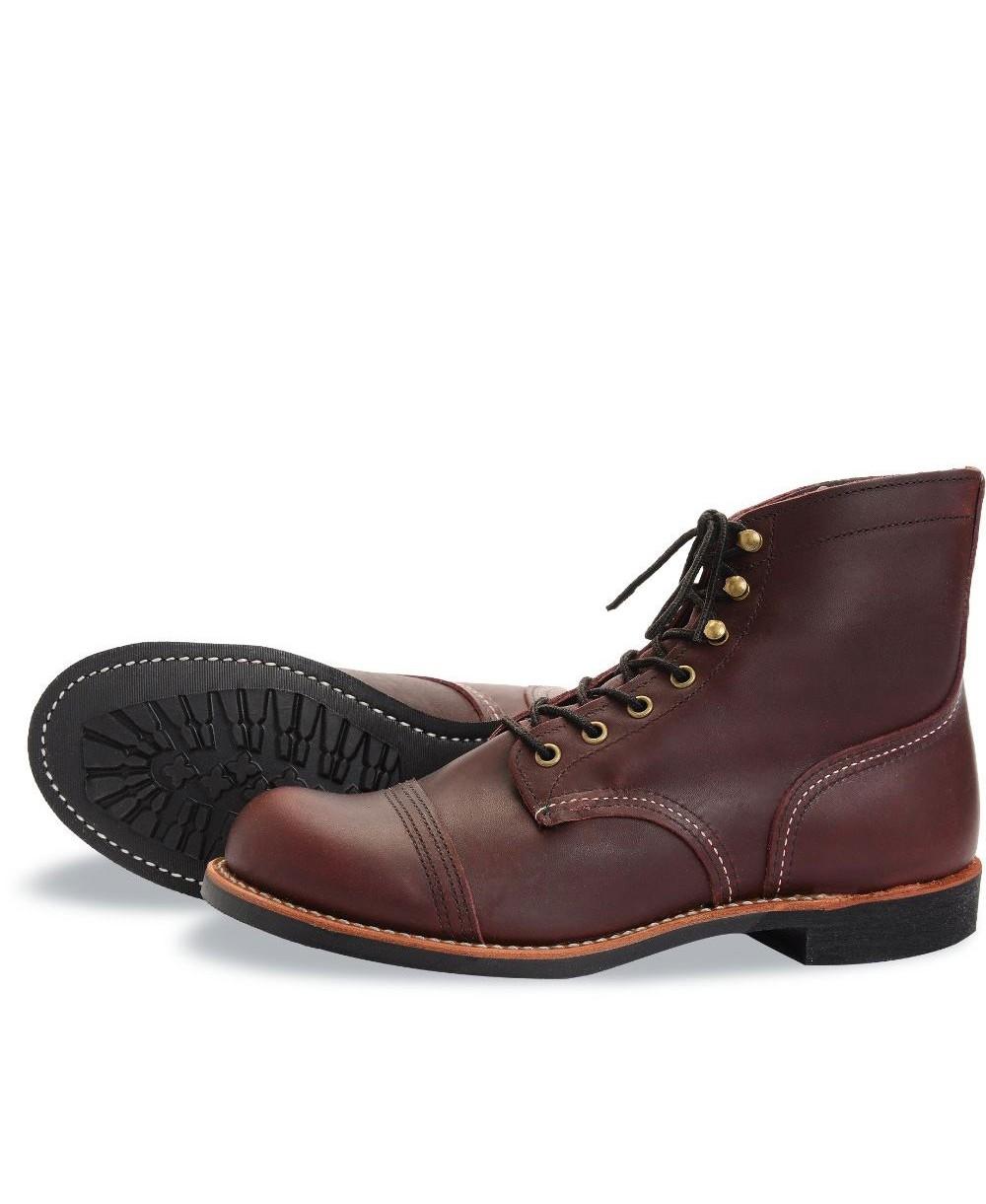 Men's Iron Ranger Leather Boots 8119