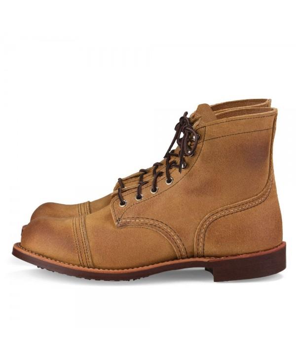 en Cuir 8083 Ranger Boots Iron Homme dorWxBCe