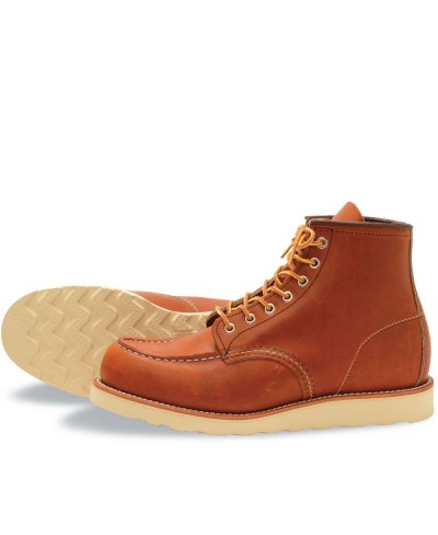 Classic Moc Boots en Cuir...