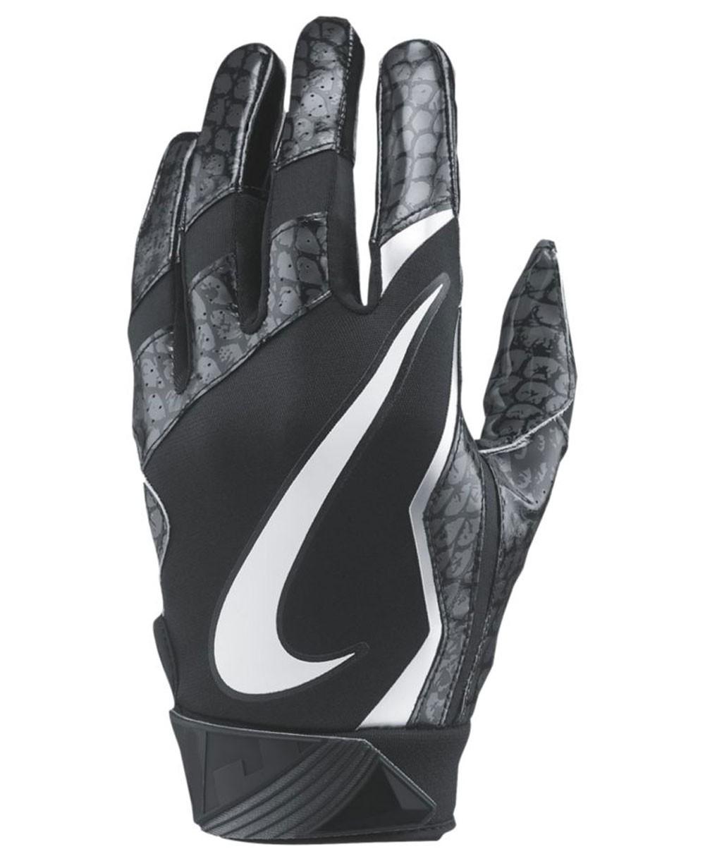 Nike Vapor Jet 4 Snake Men s American Football Gloves Black a74e3ef674
