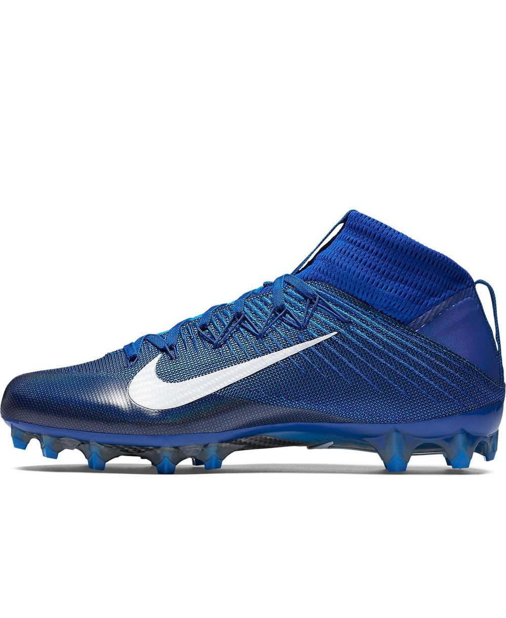 uk availability 0364b f8517 Nike - Crampons de Football Américain pour homme, modele Vapor Untouchable 2,  couleur Racer Blue Blue Lagoon White