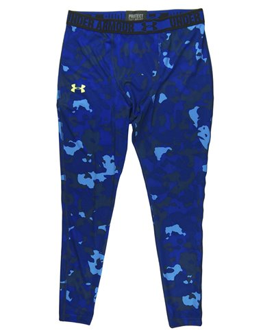 HeatGear Sonic Leggings Uomo Blue Print