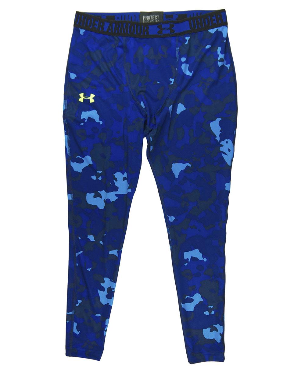 HeatGear Sonic Legging Homme Blue Print