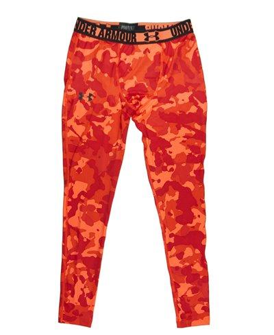 HeatGear Sonic Herren Leggings Blaze Orange