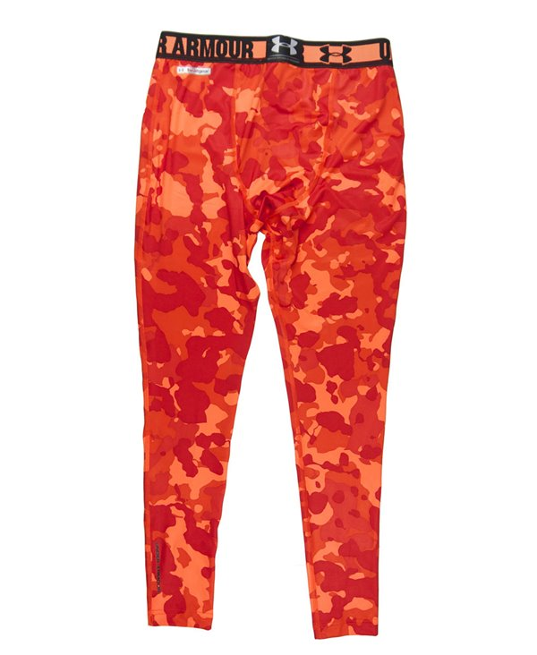 HeatGear Sonic Leggings Uomo Blaze Orange