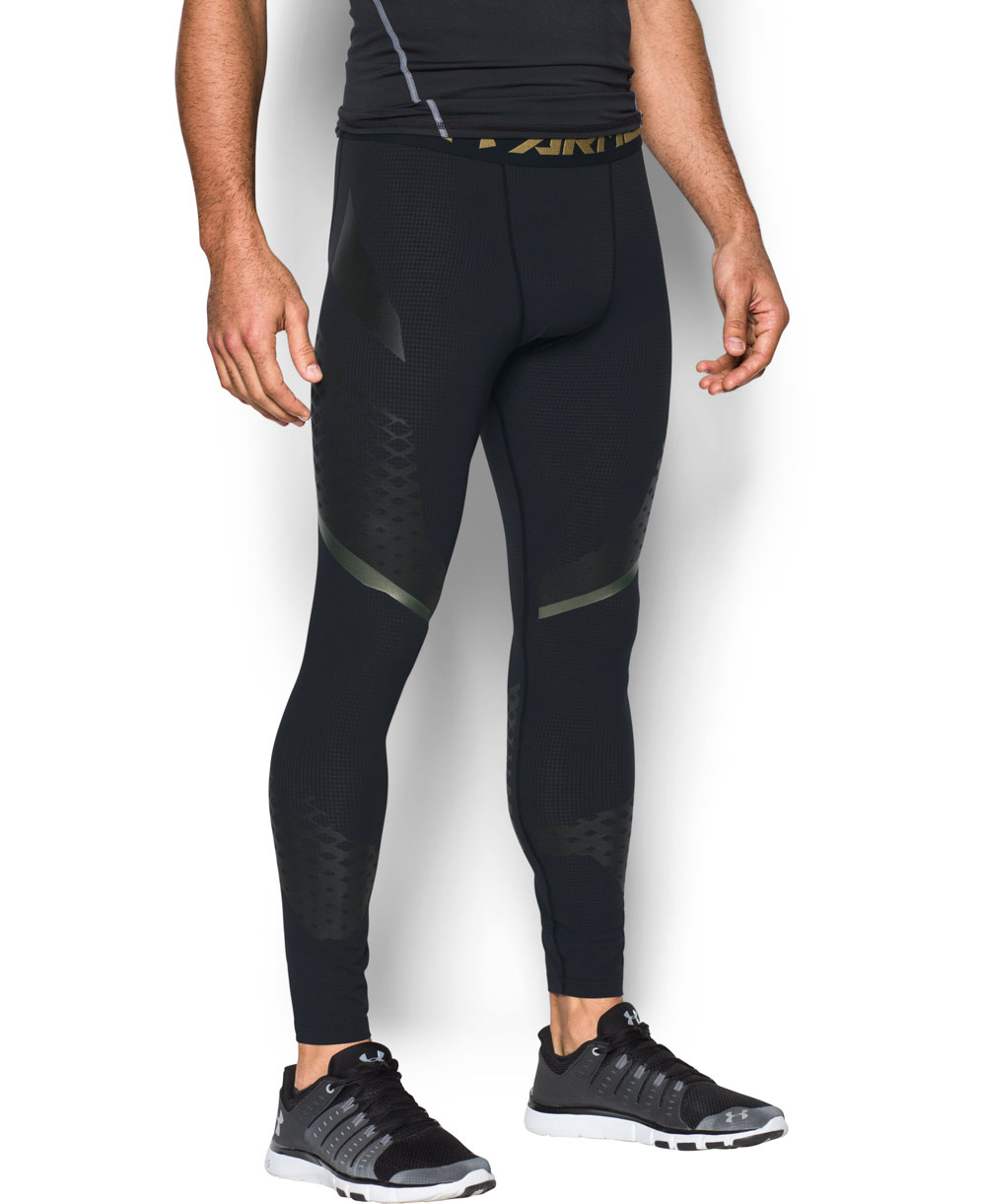 HeatGear Armour Zone Legging Homme Black