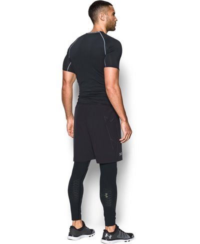 HeatGear Armour Zone Leggings para Hombre Black