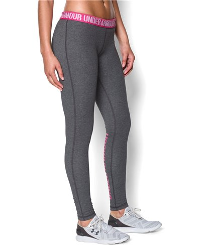 Favorite Word Mark Damen Leggings Carbon Heather