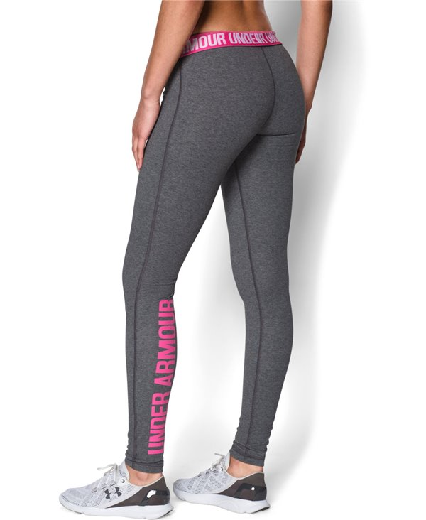 Favorite Word Mark Leggings Donna Carbon Heather