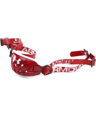 Gameday Armour Men's Chin Strap Red