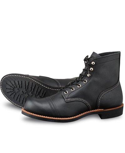 Herren Leather- Iron Ranger Boots 8084