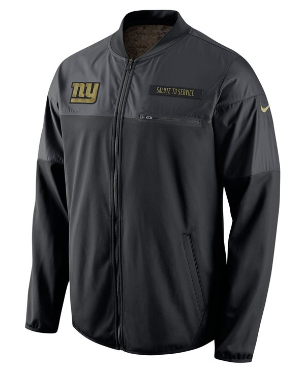 STS Hybrid Chaqueta para Hombre NFL Giants
