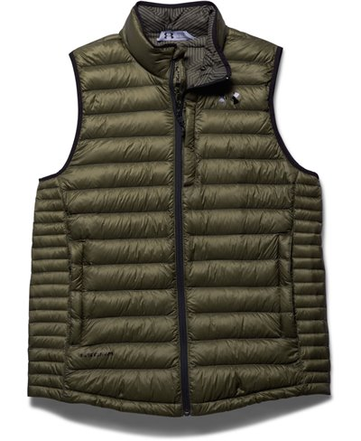 Men's Sleeveless Jacket Storm ColdGear Infrared Turing Greenhead