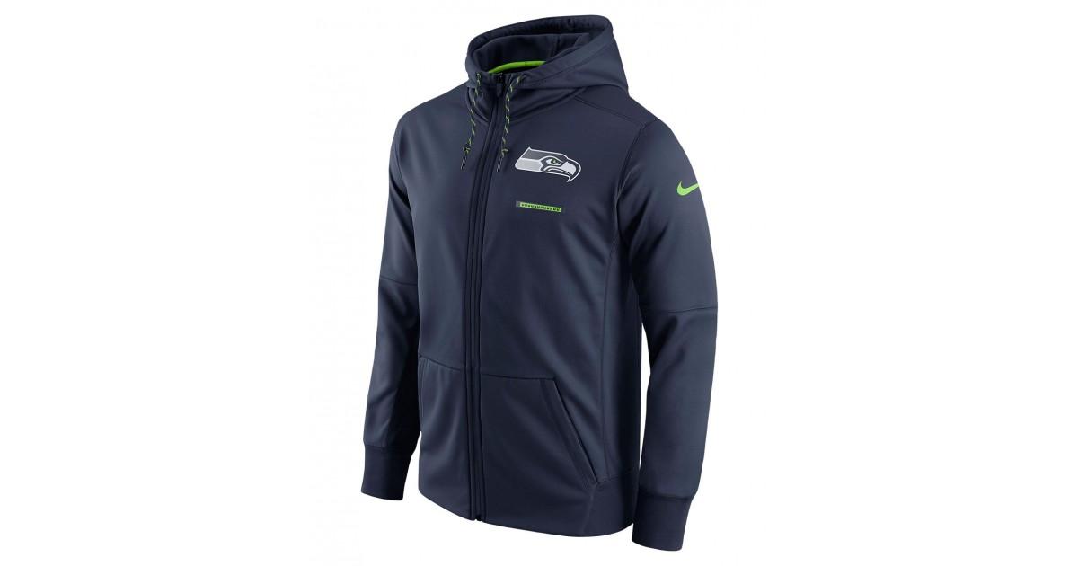 online retailer a7301 940fe Nike Men's Hoodie Therma NFL Seahawks