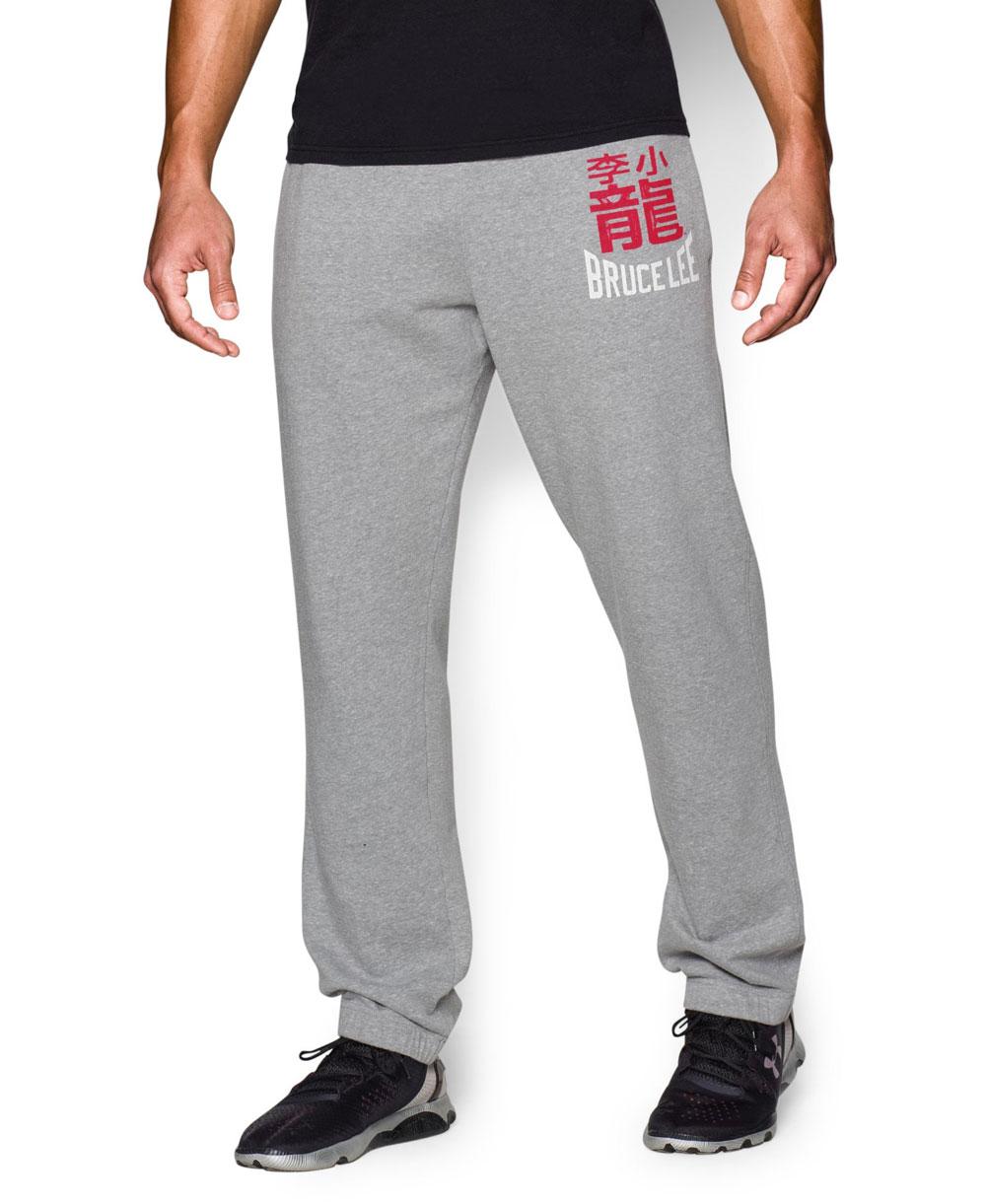 Bruce Lee Roots Of Fight Pantalón Deportivo para Hombre True Gray Heather