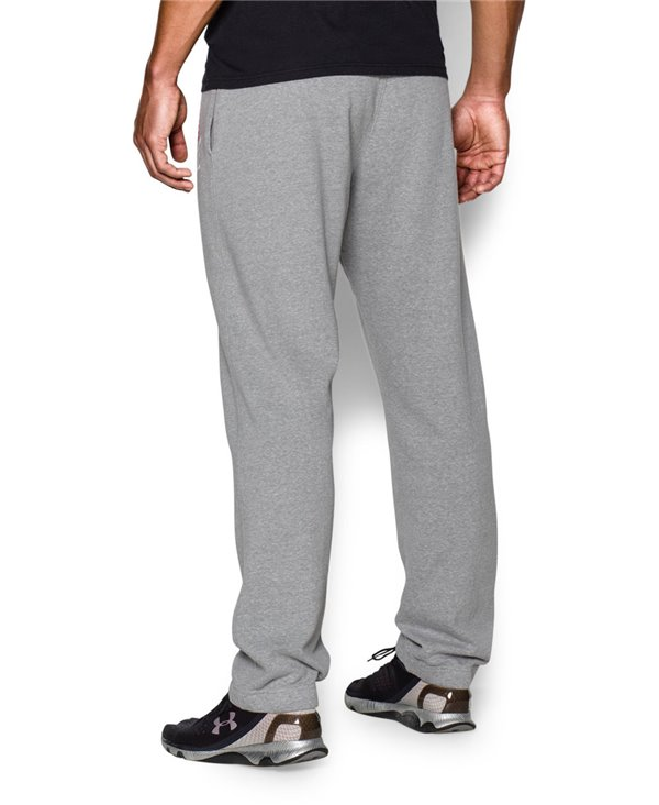 Bruce Lee Roots Of Fight Men's Fleece Pants True Gray Heather