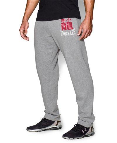 Bruce Lee Roots Of Fight Pantalon en Molleton Homme True Gray Heather