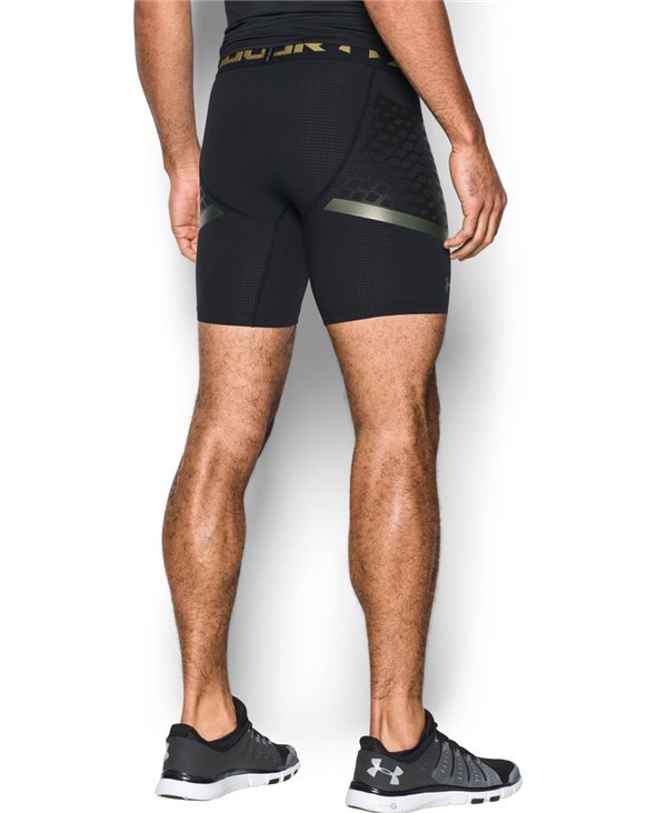 HeatGear Armour Zone Pantaloncini di Compressione Uomo Black