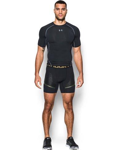 HeatGear Armour Zone Men's Compression Shorts Black
