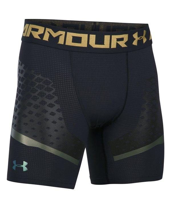 HeatGear Armour Zone Pantalones Cortos de Compresión para Hombre Black