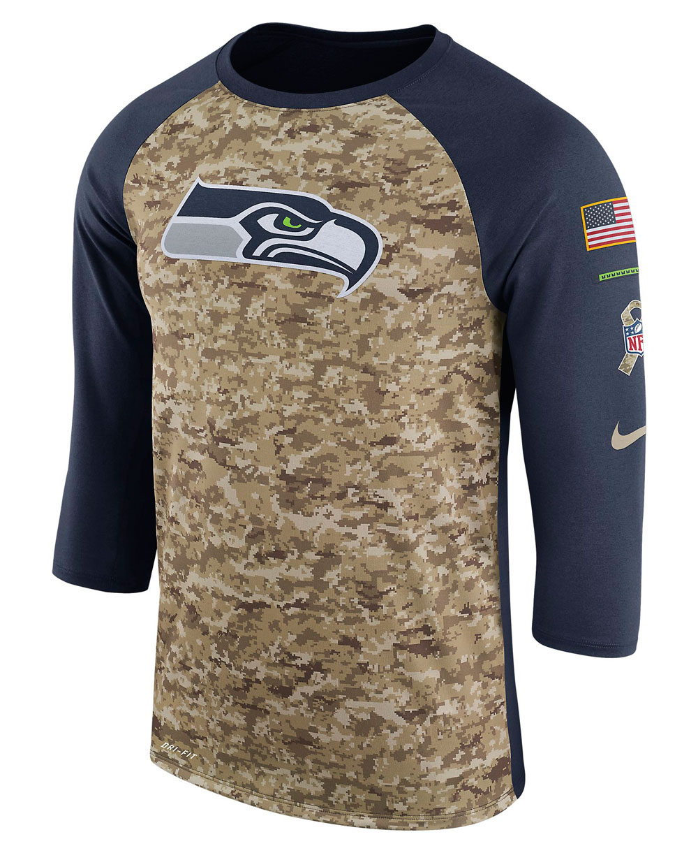 Dry Legend STS Raglan T-Shirt Homme NFL Seahawks