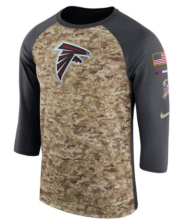 Dry Legend STS Raglan T-Shirt Uomo NFL Falcons