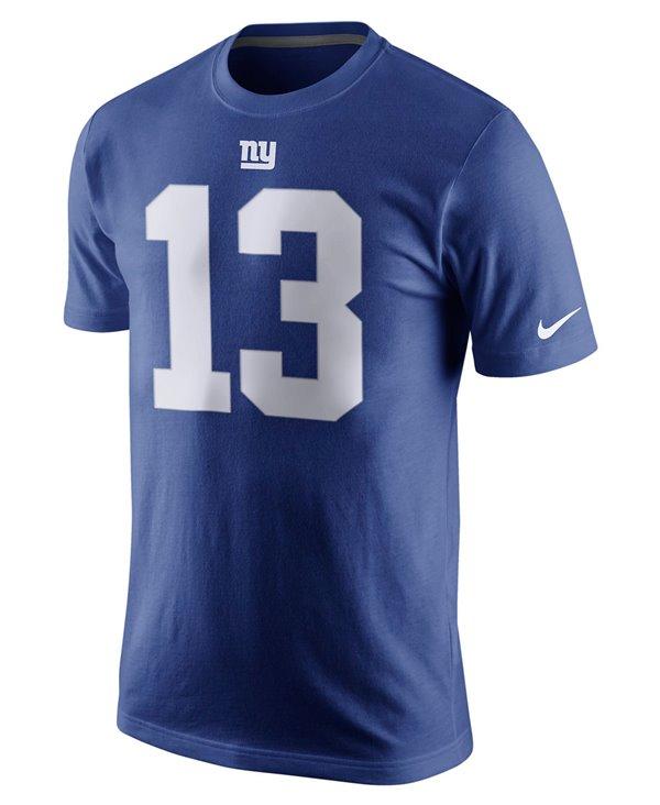 Men's T-Shirt Player Pride Name and Number NFL Giants / Odell Beckham Jr.