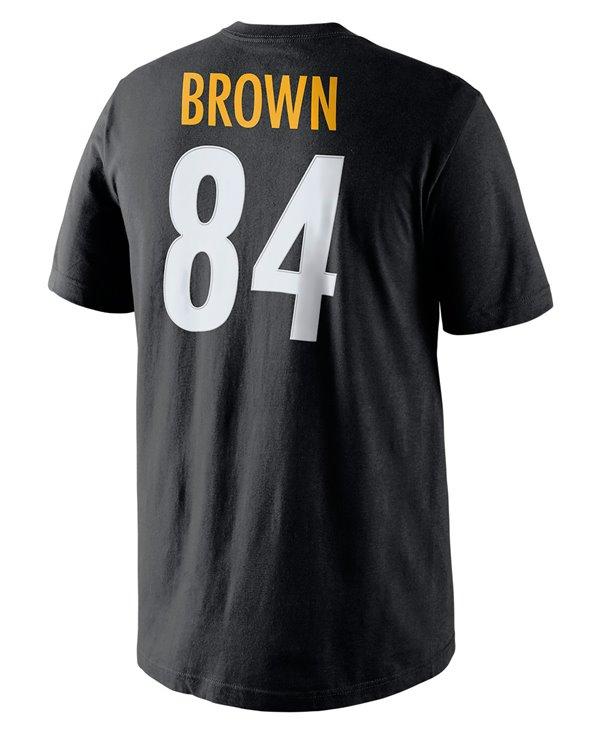 Herren T-Shirt Player Pride Name and Number NFL Steelers / Antonio Brown