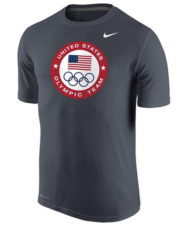 Herren T-Shirt Team USA Olympic Logo