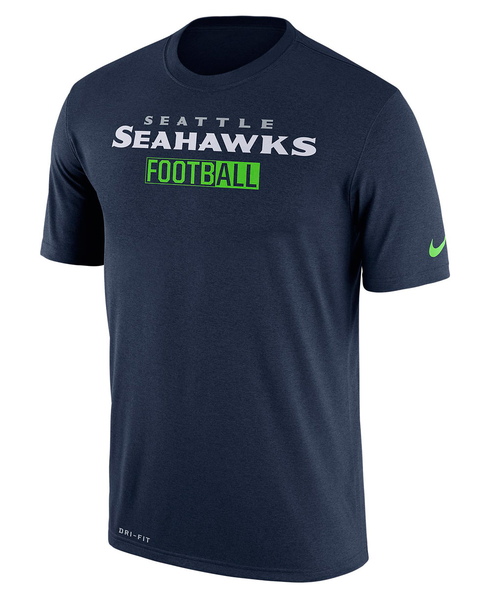 Legend All Football T-Shirt Uomo NFL Seahawks