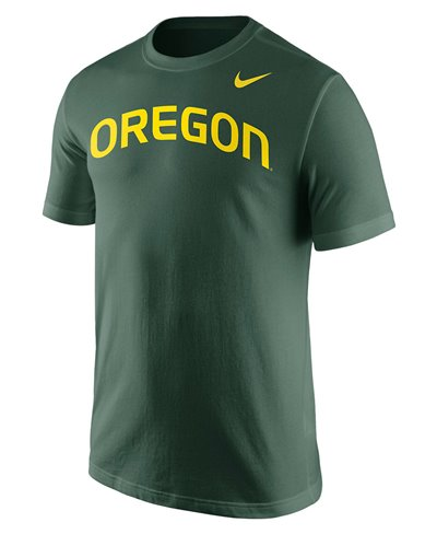 College Wordmark T-Shirt Uomo Oregon