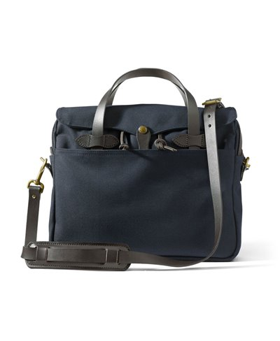 Men's Rugged Twill Original Briefcase Navy