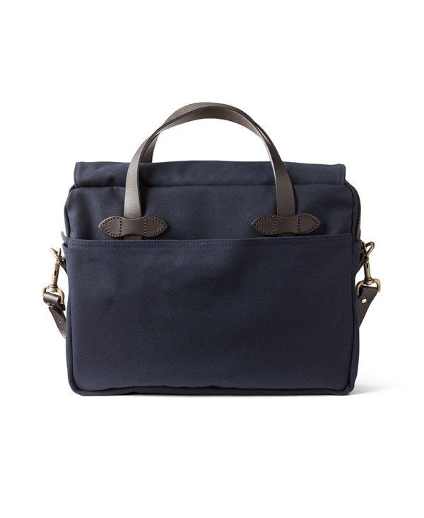 Men's Rugged Twill Original Briefcase Navy