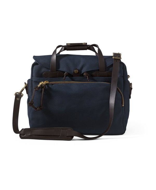 Men's Rugged Twill Computer Bag Navy