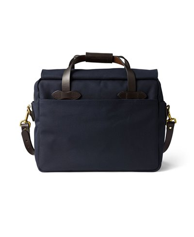 Rugged Twill Borsa Computer Uomo Navy