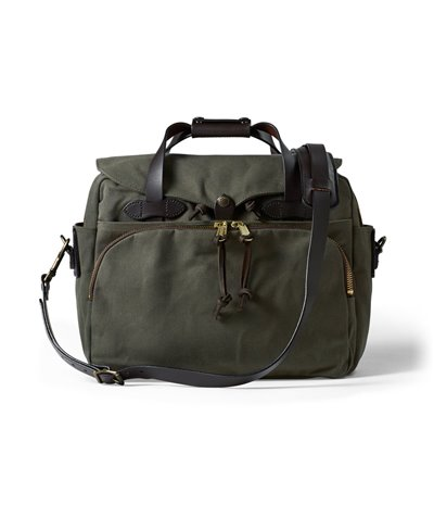 Herren Rugged Twill Laptop-Tasche Otter Green