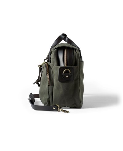 Men's Rugged Twill Computer Bag Otter Green