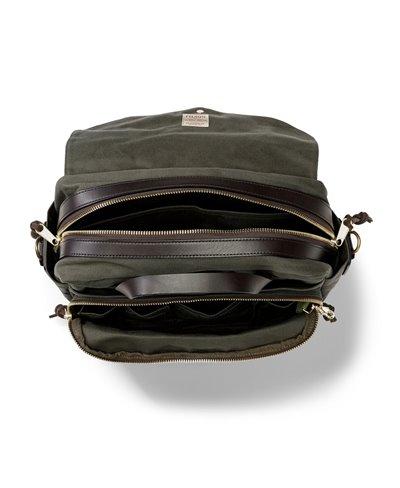 Herren Rugged Twill Laptop-Tasche Otter Green