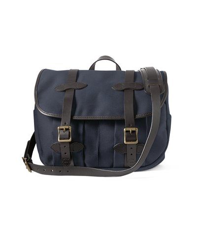 Medium Rugged Twill Sac Porte-documents Homme Navy