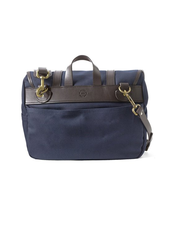 Medium Rugged Twill Borsa da Lavoro Uomo Navy
