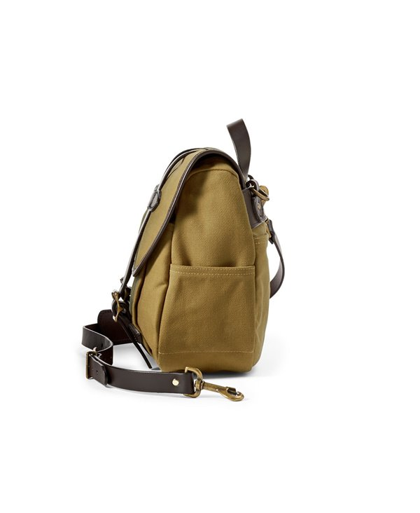 Herren Medium Rugged Twill Business-Tasche Tan