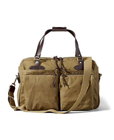 48-Hour Tin Cloth Duffle-Tasche Tan