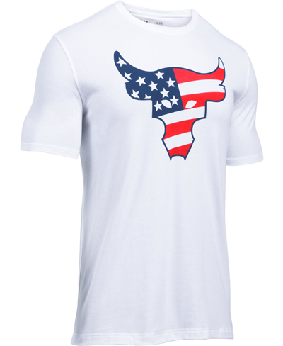 Freedom Rock The Troops T-Shirt Manica Corta Uomo White