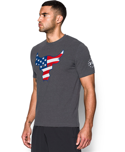 Freedom Rock The Troops T-Shirt Manica Corta Uomo Carbon Heather