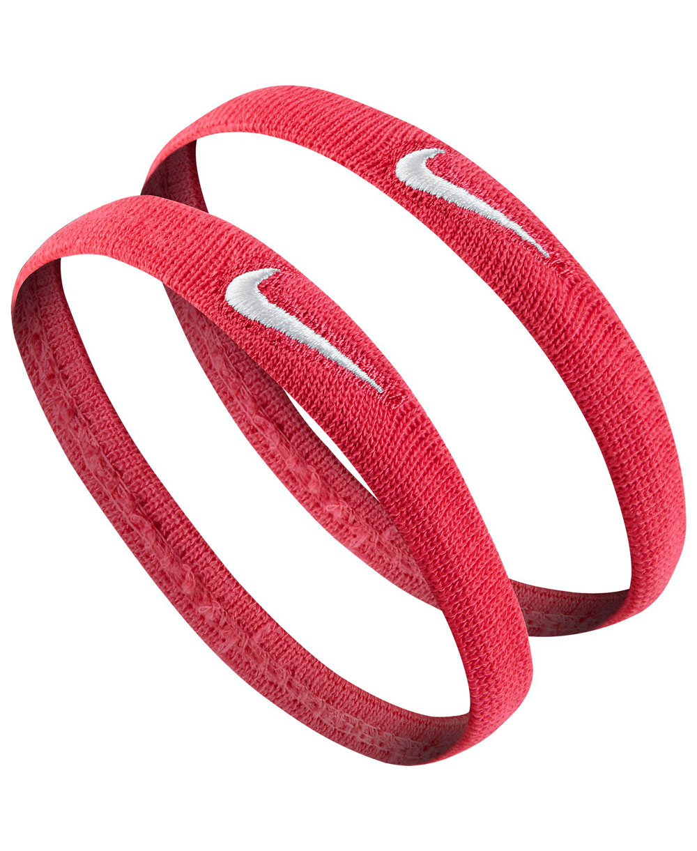 Dri-FIT Skinny Bicep Bands Red