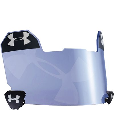 Blue Tilt Logo Men's Football Visor Blue