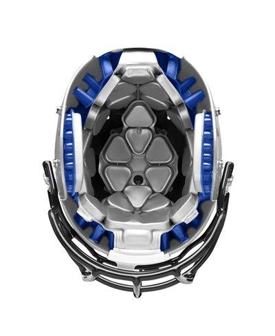Team Vengeance SL-DCT Casco Football Americano Metallic Silver
