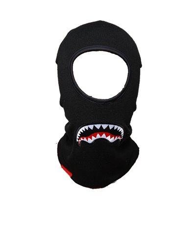 Sharkmouth Pasamontañas para Hombre Black